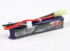 RC Turnigy nano-tech 1000mAh 3S 20-40C Lipo AIRSOFT Pack
