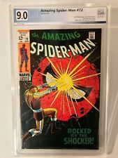 Amazing Spider-Man #72, PGX 9.0, White Pages, not CGC or CBCS