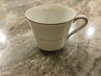 Brocade by Style House Fine China FLAT CUP, Made in Japan
