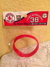 BOSTON RED SOX RUBBER BRACELET WRIST BAND CURT SCHILLING MLB FOREVER COLLECTIBLE