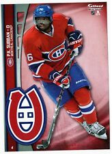 2014 Fathead SUBBAN NHL Tradeables #4 Montreal Canadiens 5x7 Wall Decal P.K.