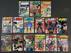 PartRun of (15) G.I. Joe A Real American Hero (1983-89) #12-138 Marvel Comics