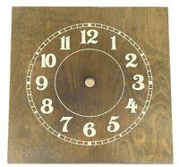 alte Uhrenfront Zifferblatt Ersatzteil f Wanduhr Pendeluhr Uhrwerk Uhr clock
