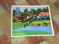 Beatriz Recari  Kia Classic Signed Royal Aviara Golf Club Scorecard COA