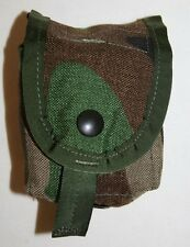 GI SURPLUS WOODLAND CAMO MOLLE II HAND GRENADE POUCH UNISSUED CONDITION