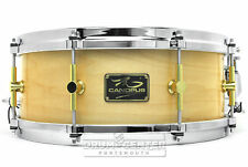 Canopus 'The Maple' Snare Drum 14x5.5 w/ Cast Hoops Natural Lacquer - Video Demo