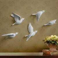 Resin Bird Wall Decor