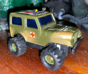 Vintage 1983 SOMA ROUGH RIDER STOMPERS 4x4 Command US Army Medic Rescue Jeep