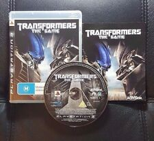 Transformers The Game (Sony PlayStation 3, 2007) PS3 Game - Very Good condition