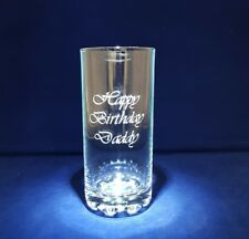 Personalised Highball Glass Engraved With Any Message