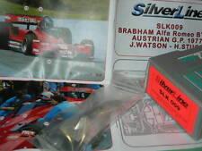 SilverLine Tameo 1:43 KIT SLK 009 Brabham Alfa Romeo BT45B Austrian GP 1977 NEW