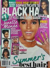 Sophisticates Black Hair Styles And Care Guide July August 2017 FREE SHIPPING sb