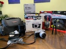 Panasonic LUMIX DMC-GF7K Digital Camera - Silver camera bundle