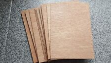 15 sheets of 3mm PLYWOOD Size = A4 (210mm x 297mm) - Models Crafts Painting PLY