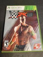 WWE 2K15 (Microsoft Xbox 360, 2015)  Tested