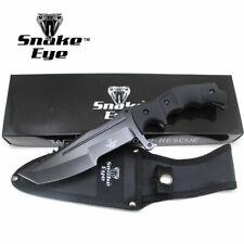 "Snake Eye Tactical 11"" Heavy Duty Fixed Color Blade Hunting Knife w/Nylon Sheath"