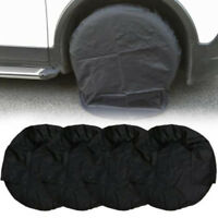 4x Heavy Duty Car Truck Caravan Spare Wheel Cover Tyre Tire Storage Wheel Covers
