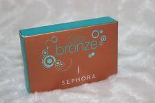 SEPHORA Color Bronze Mini Makeup Set 4 Lip Gloss 8 Eye Shadow Bronzing Powder