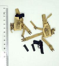 XB137-37 1/6 HOT 2 Pistol & 2 Holster Resident Evil ZOMBIE KILLER Alice TOYS