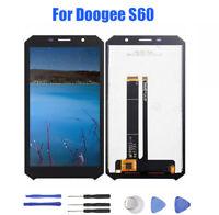 Pour Doogee S60 Écran Tactile LCD Afficher Assemblée Digitizer Replacement Noir