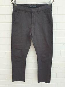 Brave by Wayne Cooper Dress Pant Grey Size Tag 30 Mens W31.5 Ins27 JE375