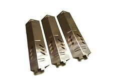 Set of Three Stainless Steel Heat Plates for Gas Grill Model Backyard Grill B...