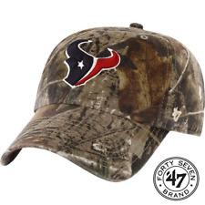 47 Brand Houston Texans  Camo Realtree Hunting Football Hat Cap Adjustable