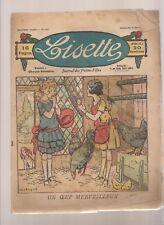 LISETTE 1924.COUVERTURE DE LEVESQUE. N°147.UN OEUF MERVEILLEUX... BE