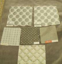 Robert Allen Plush Strie Velvet Upholstery Weight Fabric & Coord Fabric-14 YDS