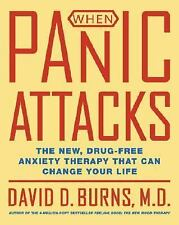 When Panic Attacks The New Drug-Free Anxiety Therapy David D. Burns Book
