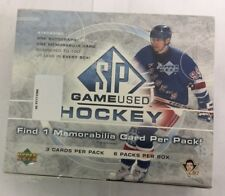 2005-06 Upper Deck SP Game Used Factory Sealed Hobby Hockey Box