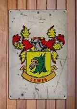 Christian Coat of Arms A4 Aged Retro 10x8 Metal Sign Aluminium Heraldry