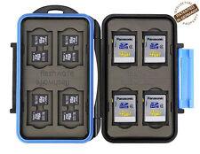 Turtle-SD8MSD16 wasserdichte Schutzbox für 8 Stück SDHC und 16 Stück MicroSD