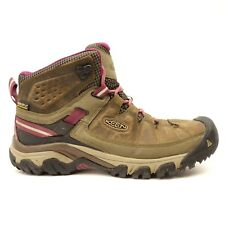 Keen Womens Gypsum II Mid Leather Waterproof Trail Hiking Shoes Boots Size 8.5