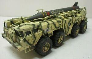 Pro Built 1:35 Scale Russian SS1C Scud B MAZ 543 TEL Tank Model Excellent LA655