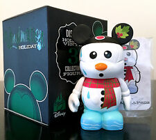 """DISNEY VINYLMATION 3"""" HOLIDAY 1 SERIES CHRISTMAS MELTY SNOWMAN TOY FIGURE NEW"""