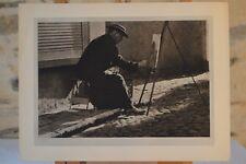 Photographie d'un peintre ecclésiastique belge - 1935 - Alfons van Uffelen