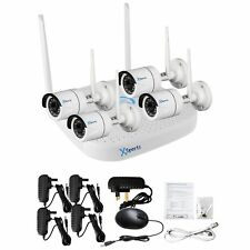 4CH Wireless 4 Camera 1080P DVR CCTV Security Camera System High Specification
