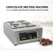 8kg/12kg Stainless Steel Chocolate Boiler Warmer Melting Machine 30℃-85℃ 1000W