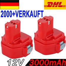 2 Stück AKKU Für Makita 12V 3.0AH 1220 1222 1233 1234 1235 1235F 192598-2 PA12