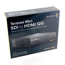 Blackmagic Design Teranex Mini SDI to HDMI 12G Video Converter