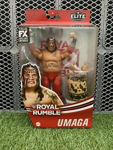 WWE Umaga Royal Rumble Elite Collection Action Figure NEW IN STOCK