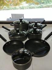 Circulon Classic Hard-Anodized Aluminum Total Nonstick 12pc Cookware Set - Used