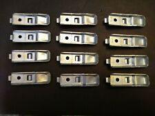 New Listing12 Republic Industrial Steel Shelf Clips Brackets - Fits Other Shelving Systems