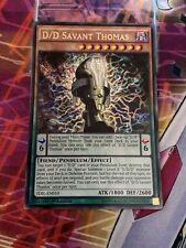 Yu-Gi-Oh Rare D/D Savant Thomas 1st Edition TDIL-EN010 / MP17-EN065 (NM)