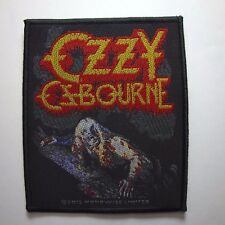 Ozzy Osbourne 'Bark At The Moon'  OFFICIAL WOVEN  PATCH