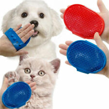 Pet Palm Brush Adjustable Dogs Cat Shower Rubber Grooming Bathing Hair Grooming