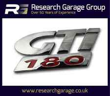 Peugeot 206 Genuine OE 'GTI 180' Tailgate Badge/Decal/Emblem Replacement Car New