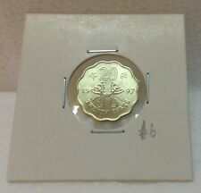 HONG KONG  Commemorative 20 cents coin 1997 Butterfly Kites  UNC/BU  #6