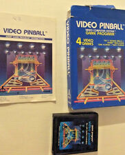 Video Pinball With Box And Instructions (Atari 2600)